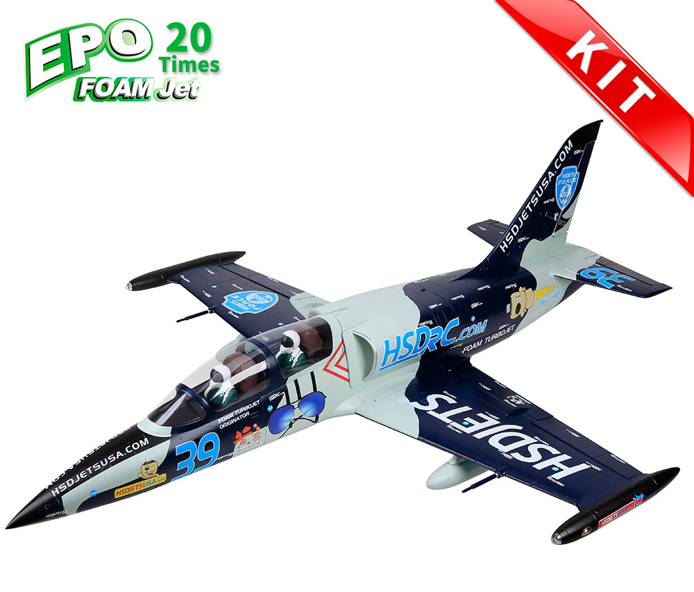 HSDJETS HL-39 Foam Turbine Blue Camo KIT