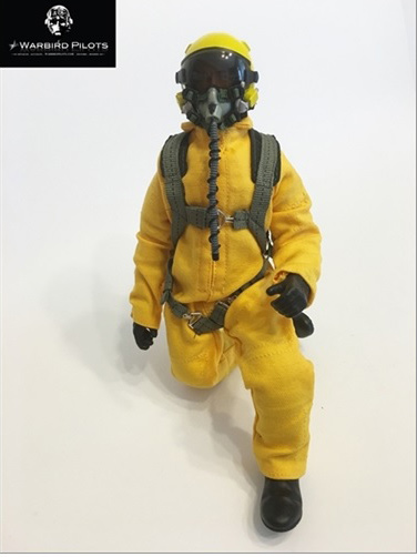 "10"" Tall Modern Jet Pilot Yellow"