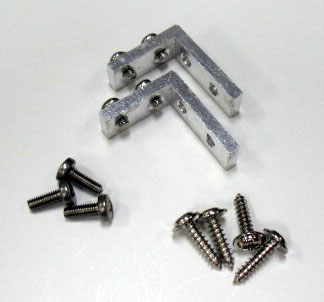 L Shape Servo Mounts