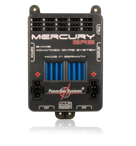 POWERBOX MERCURY SRS INCLUDES OLED-Display and GPS II