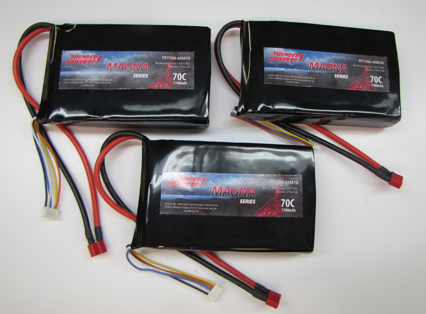 70C EVF Power System Batteries