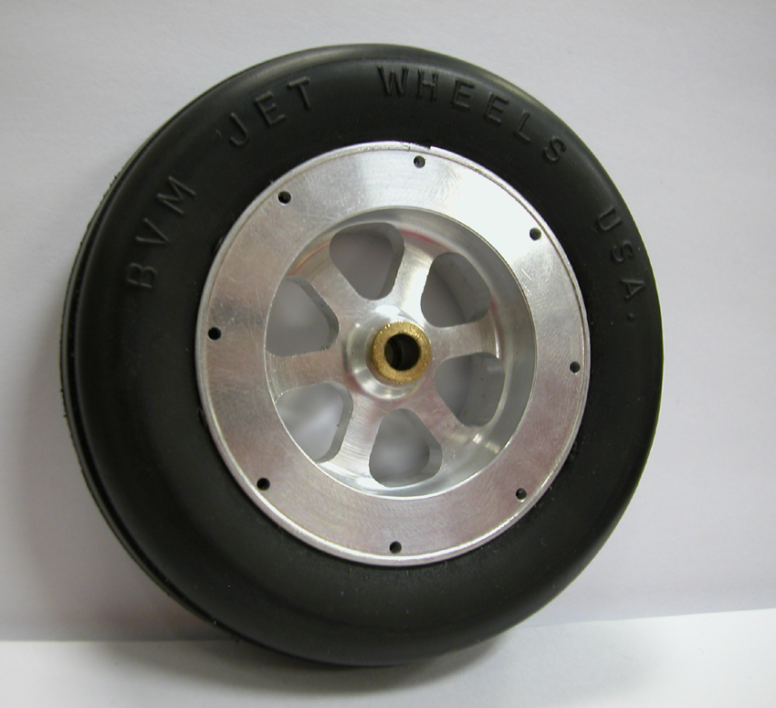"3-1/4"" Nose Wheel - Aluminum"