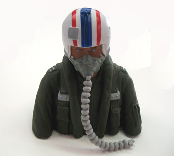 MGA Pilot - bust painted