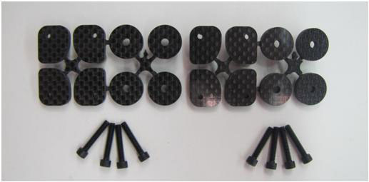 Main Gear Mount Reinforcement Kits