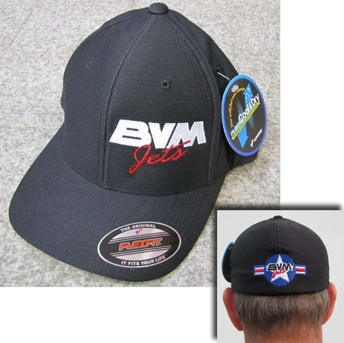 BVM Black Hat - Side Logo