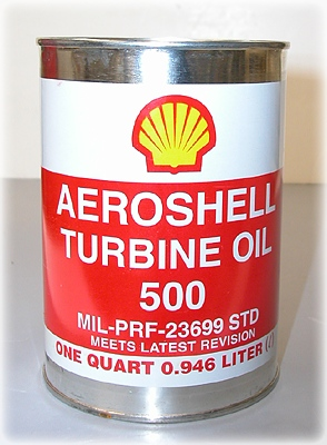 Turbine Oil Aeroshell 500