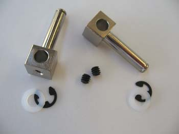 "3/16"" dia. Axles for 3/16"" Wire Struts, precision ground and pla"