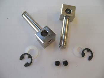"3/16"" dia. axles for 5/32"" wire struts, precision ground and pla"