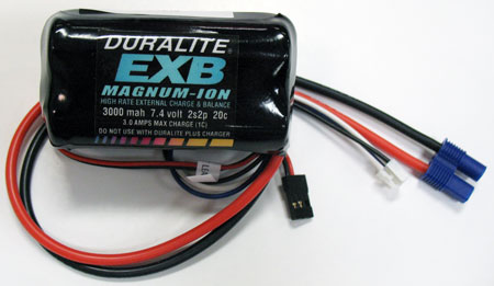 Magnum-ION and LiPo Receiver