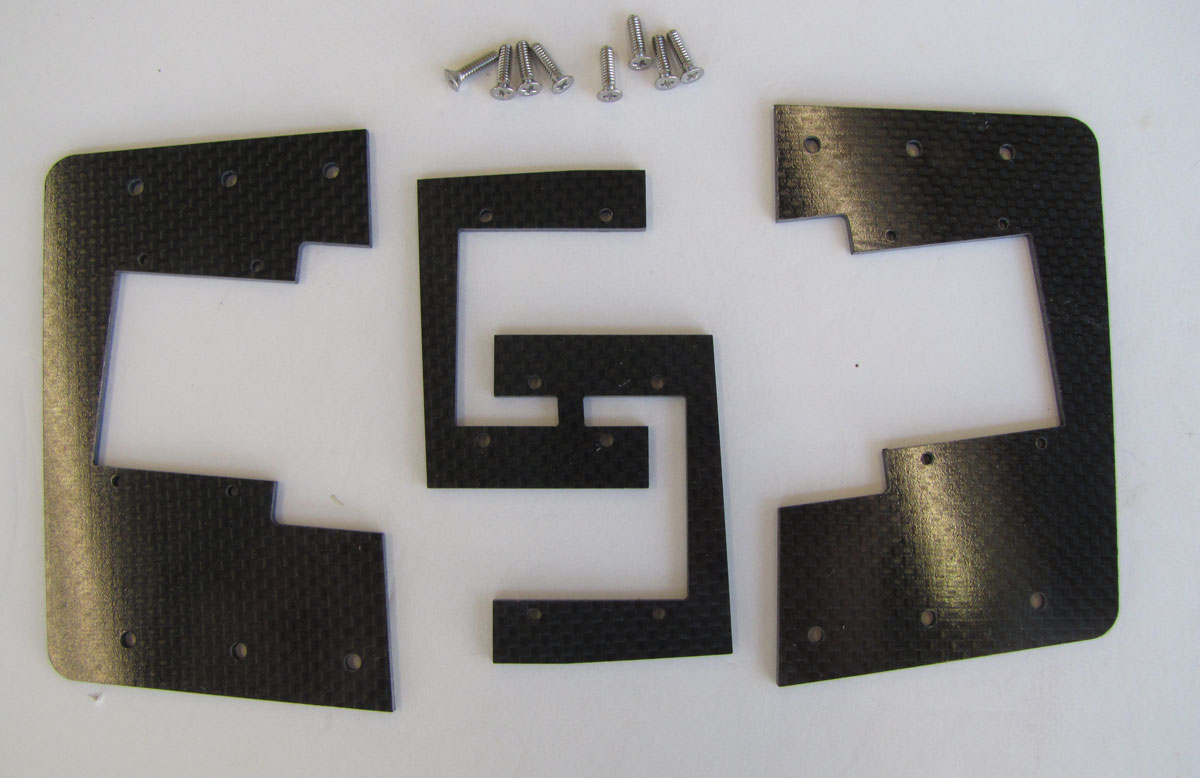 Carbon Fiber Flex Mounts and Doubler F-80/T-33