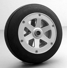 "3-5/8"" Nose Wheel - Aluminum"