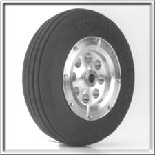 "3"" Main Wheel - Aluminum"