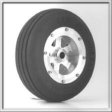 "2-5/8"" Nose Wheel - Aluminum"