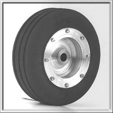 "2-1/4"" Nose Wheel - Aluminum"