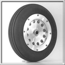 "3-1/2"" Main Wheel - Aluminum"